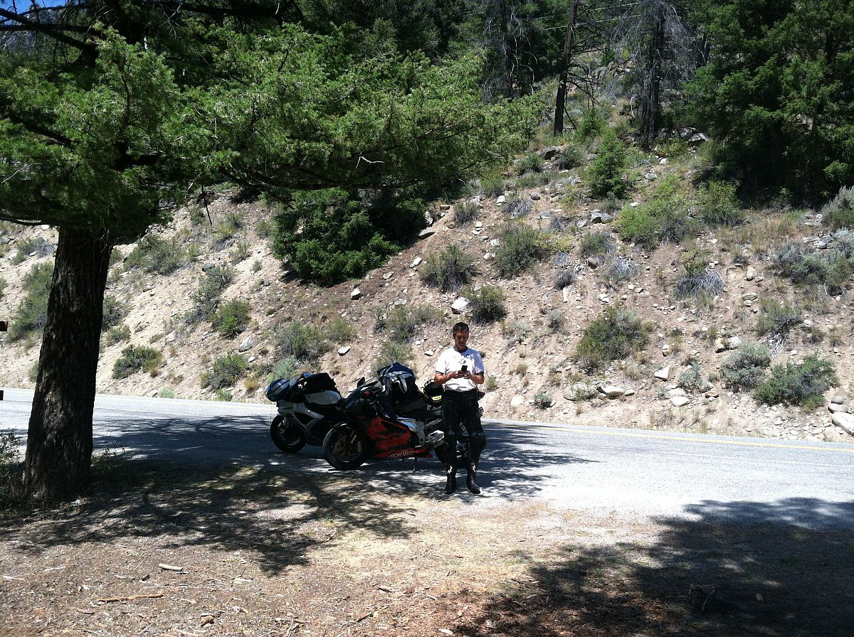 Somewhere in Idaho between Missoula and Ketchum - from the Motorcycle summer trip 2012 photo gallery.