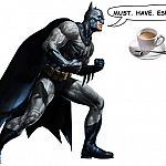 Cafe Batman Breakfast test - following up with a bat-beer at Gotham Tavern in Portland