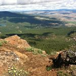Top of Spanish Peak in Ochoco National Forest
